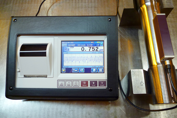 Mitutoyo SJ-310, a surface roughness tester